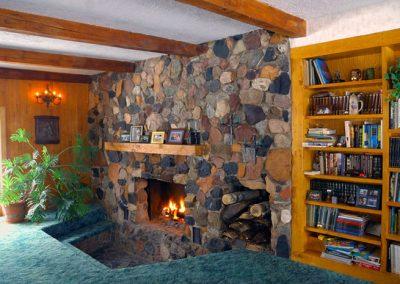 custom-built-fireplace