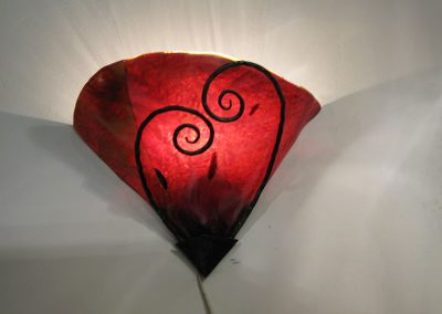 sconce-light-fixture-red-glass
